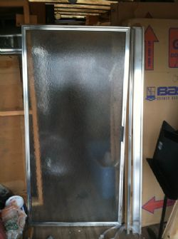SHOWER DOORS - BRAND NEW BASCO - HIGH END